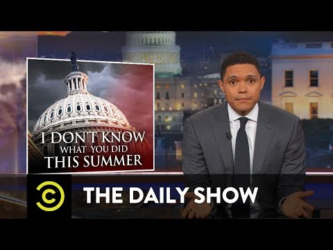 The Terrifying Tale of Trumpcare: The Daily Show