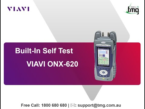 Built-In Self Test for VIAVI ONX-620