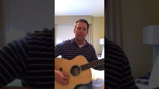 """Steven Rizzo covering Doug Stone's """"I Thought it Was You"""""""