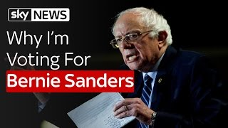 Why I'm Voting For Bernie Sanders