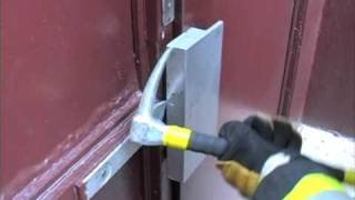 FIREFIGHTER TRAINING : MAGNETIC LOCK