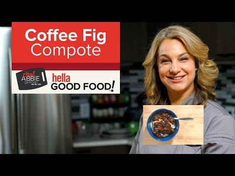 Espresso Fig Compote