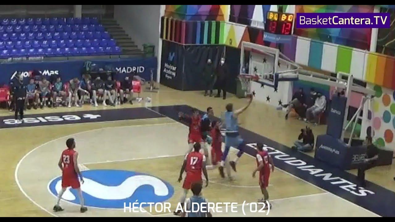 HECTOR ALDERETE (´02) Movistar Estudiantes EBA. Reaparición después de dos temporadas lesionado.