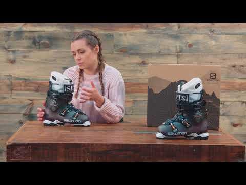 2018 Salomon QST Access Custom Heat Ski Boots – Womens – Review – The-House.com