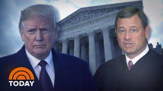 Chief Justice John Roberts Hit Back At President Donald Trump In Rare Rebuke | TODAY