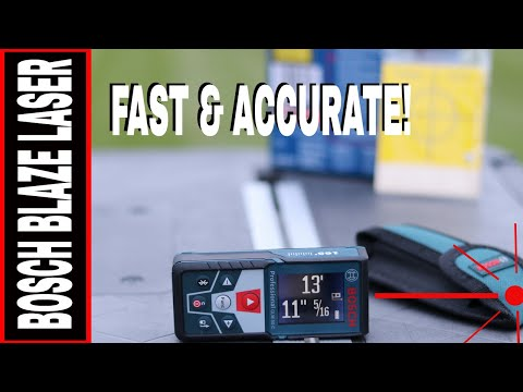 BOSCH BLAZE LASER MEASURE GLM 50 C - FAST ACCURATE MEASURING