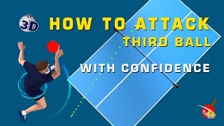 How to attack third Ball with confidence - Table Tennis