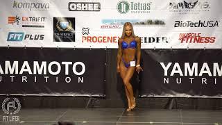Zuzana Kardošová | i-walk Bikini Fitness do 164cm | Tatranský pohár 2018