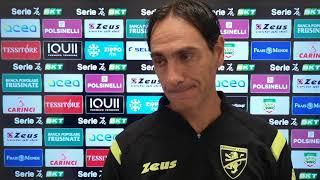 Intervista a Nesta dopo Frosinone-V. Entella 0-0