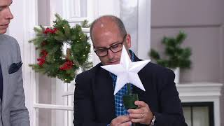 Mr. Christmas Animated Biplane Tree Topper On QVC
