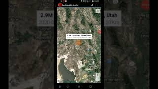 2.9 Earthquake Garland, Utah 4-29-20