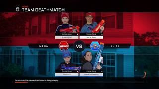 Nerf War:  Mega vs Elite