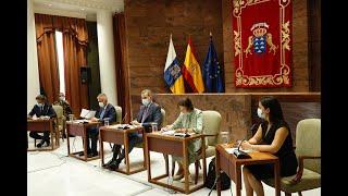 S.M. el Rey se reúne con sector turístico canario