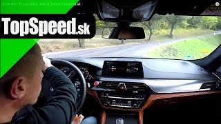 BMW M5 F90 pure drive - TopSpeed.sk