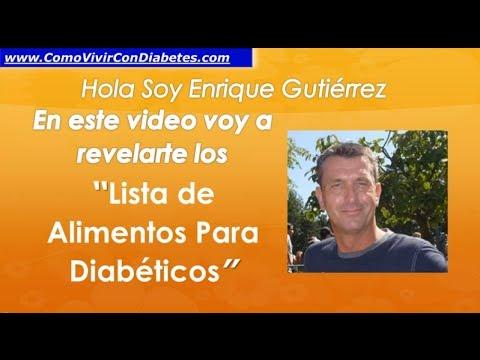 Lo que se puede comer de azúcar en la diabetes mellitus tipo 2