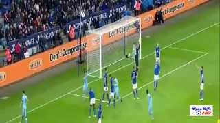 Manchester City Vs Leicester City 10 All Goals13122014 HD