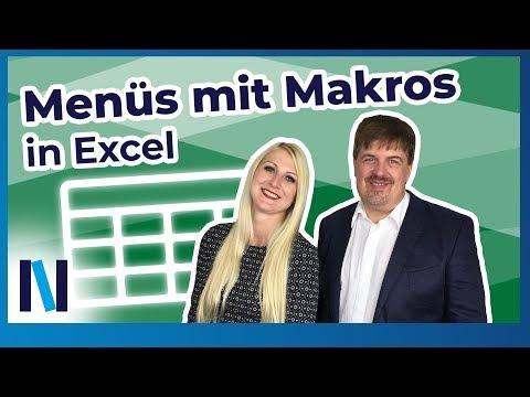 Praktische Makros: In Excel Knöpfe für Makros einrichten und ein eigenes Menü erstellen (deutsch)