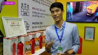 Video bình chữa cháy dạng ném Nhật Bản NINJA Safe 650ml - 2
