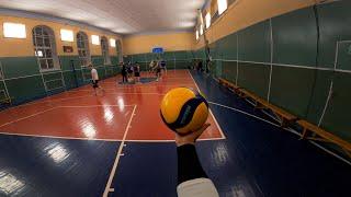 Волейбол от первого лица | FPV VOLLEYBALL FIRST PERSON | Александр с камерой | 114 episode