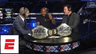 Daniel Cormier talks Brock Lesnar UFC 226 confrontation, Stipe Miocic knockout, Jon Jones   ESPN