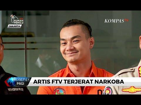 Konsumsi Narkoba, Artis FTV Agung Saga Ditangkap