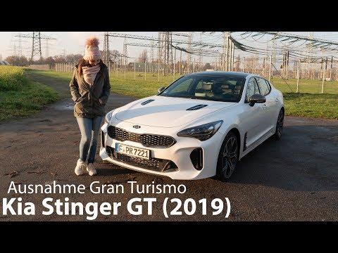 2019 Kia Stinger GT (3.3 T-GDI AWD) Test / Der Ausnahme Gran Turismo - Autophorie