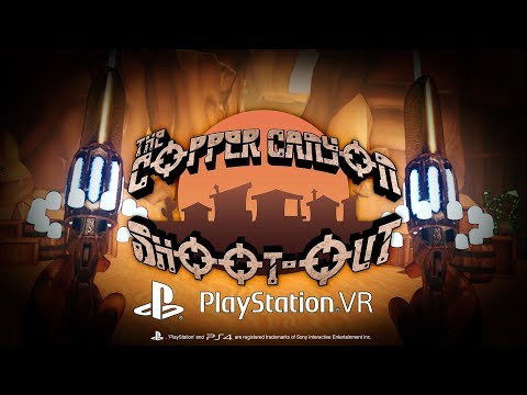 The Copper Canyon Shoot Out PlayStation VR - Announcement Trailer thumbnail
