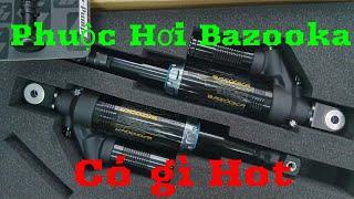 Review Phuộc Bazooka V2 18 Củ Khoai Không Cần Dầu Chỉ Cần Hơi - Hết Hơi Lấy Bơm Xe Mà Đạp =))