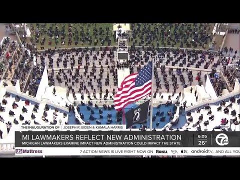 Michigan lawmakers reflect on Biden-Harris inauguration