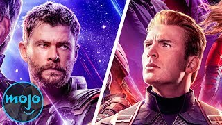 Top 10 Biggest Avengers: Endgame Questions Answered