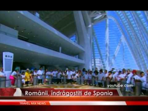 Romanii, indragostiti de Spania