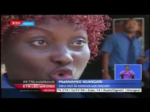 Mwanamke ngangari: Alikuwa mwelekezi wa safari za ndege sasa ni dereva.