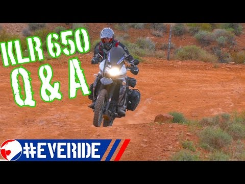 Kawasaki KLR 650 Common Questions & Answers #everide