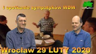 I spotkanie sympatyków WDW- 29.02.2020