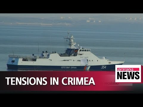 Ukraine accuses Russia of opening fire on its ships in Black Sea