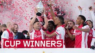 Ajax wint voor de 20e keer de KNVB Beker ?   BEKERUITREIKING