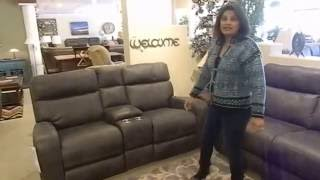 Power And Rocking Loveseat And Sofa -Thompkins By Flexsteel
