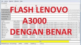 Lenovo A3000 H Flash done with flash tool by GsmHelpFul - GSM Helpful