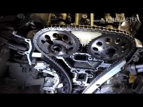 Замена цепи ГРМ Opel Corsa D 1.2