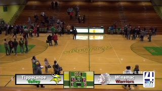 Tippecanoe Valley Girls Basketball vs Winamac