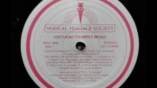 Stanley / Hermann Sauter, 1968: Trumpet Tune, Schwäbisches Kammerorchester