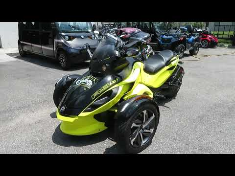 2014 Can-Am Spyder® RS-S SE5 in Sanford, Florida - Video 1