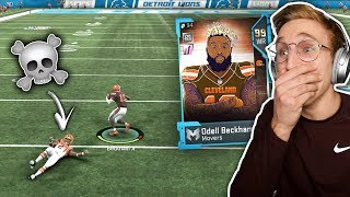 Odell On The Browns Is Actually a GLITCH... Madden 19