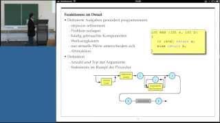 preview picture of video 'Grundlagen der Informatik, Professor Froitzheim, Vorlesung 04, Teil I, 30.10.2012'