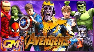 Avengers Kids Compilation!! From Avengers Assemble all the way to Endgame!!