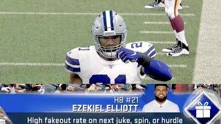 Madden 20 Gameplay! Ezekiel Elliott UNSTOPPABLE IN THE ZONE