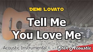 Demi Lovato   Tell Me You Love Me (Acoustic Cover With Lyrics)