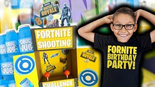 EPIC FORTNITE BATTLE ROYALE BIRTHDAY PARTY!