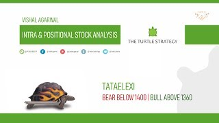 TATAELEXI STOCK ANALYSIS INTRA & POSITIONAL BEAR OR BULL