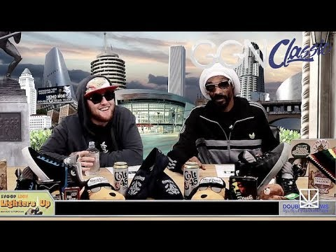 Mac Miller freestyle rapping with Snoop Dogg | GGN Classic